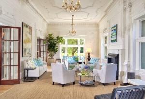 Tall ceilings make a room feel twice as big!