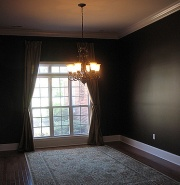Colors are too dark and make a room appear smaller