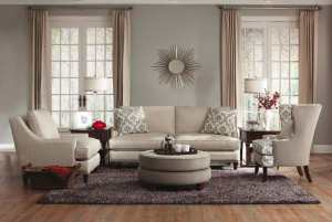 Neutral & Oh-So-Inviting! Come sit here! Come buy me!