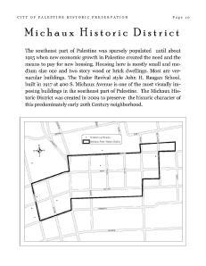 Michaux District Map