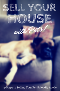 How to sell my house palestine texas with pets!