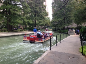I love the River Walk! I didn't have time to ride the boat tour this time, but have done it in the past and it is a blast!