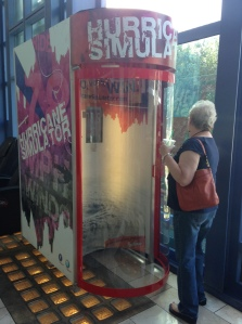 """check this out! This is a hurricane simulator! You pay money to stand inside the """"Hurricane""""...How weird is this?? lol!"""