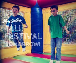 Fall Festival in Montalba, Texas is tomorrow!