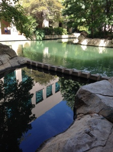 Taking a break from Property Management Real Estate Forum to enjoy the serenity of the water