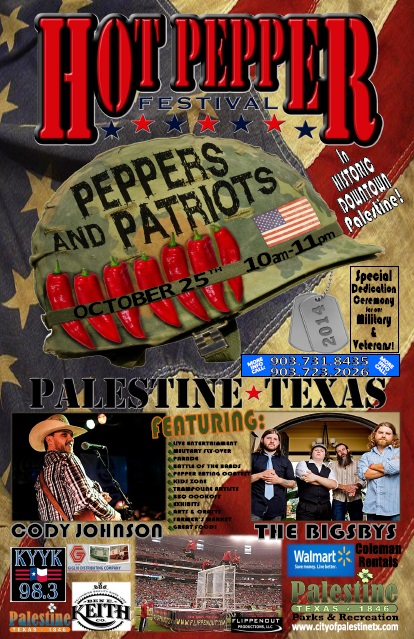 Hot Pepper Festival - Palestine TX2014