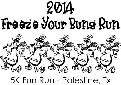 5K fun run shirt design 2014 FRONT