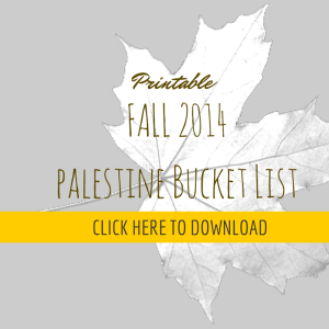 CLICK HERE TO DOWNLOAD bucket list pdf