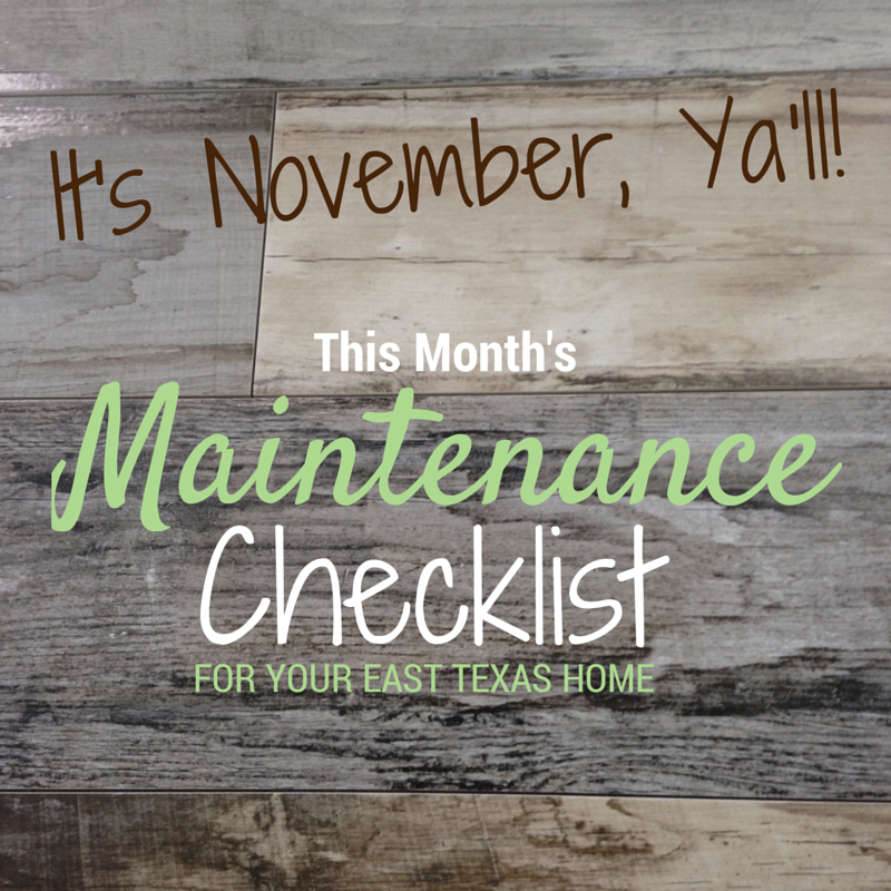 November home maintenance tips from your realtor Lisa