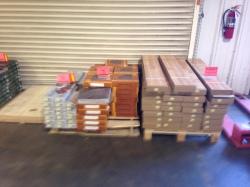 Clearance flooring!