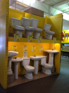 and toilets too!