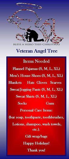 veteran angel tree